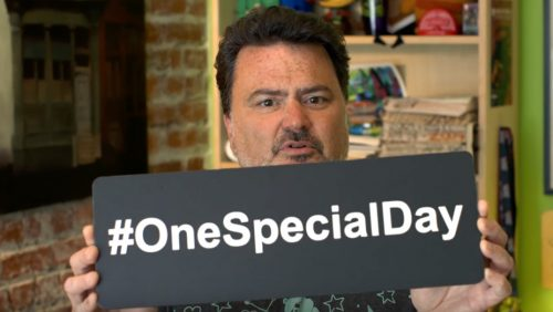 Tim Schafer backs One Special Day 2017