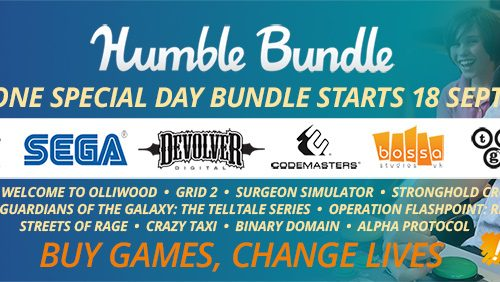 Humble launch One Special Bundle