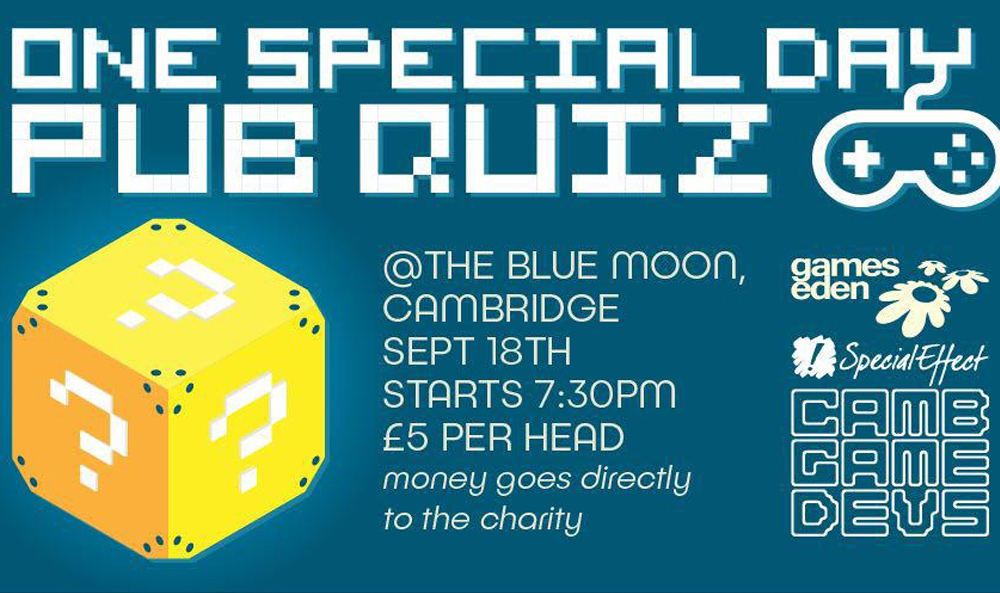 Banner ad for the pub quiz