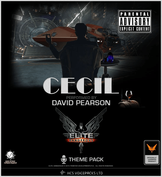 CD Box with the name Cecil written on it