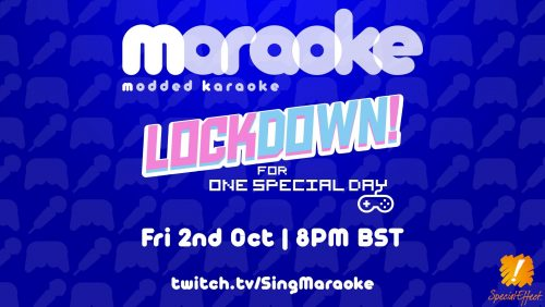 Maraoke is back for One Special Day 2020