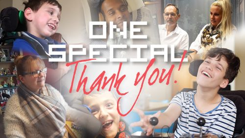 THANK YOU for your #OneSpecialDay support!