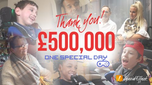Games industry unites to support SpecialEffect with most successful One Special Day ever