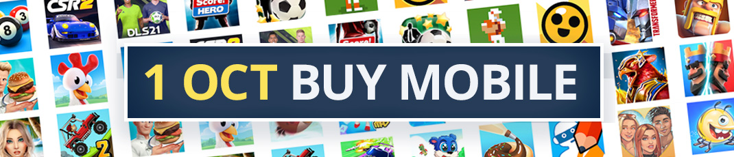 Buy these mobile games on 1 October