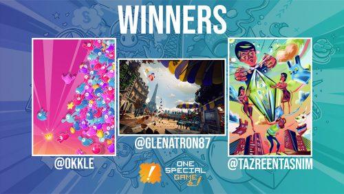 One Special Game fan art winners revealed!
